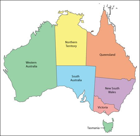 Map Of Australia Pdf.Australia Map Editable Vector Illustrator Wmf And Pdf