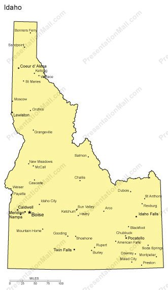 Idaho PowerPoint Map- Major Cities on map of idaho mountains, map texas with cities, map of idaho gold mines, map of idaho and montana, map of arizona cities, iowa map with cities, map of northern idaho cities and towns, map of idaho roads, all idaho cities, map of idaho and oregon, map of washington cities, map of idaho fires, idaho state cities, map of california cities, map of idaho ski resorts, map of idaho state parks, map of twin falls idaho city limits, alaska map with cities, map of idaho rivers, map ohio with cities,