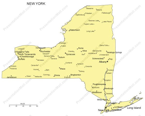 New York PowerPoint Map - Major Cities Powerpoint In United States Map With Cities on china map in powerpoint, road maps in powerpoint, legend in powerpoint, globe in powerpoint, us map in powerpoint, title page in powerpoint, table of contents in powerpoint,