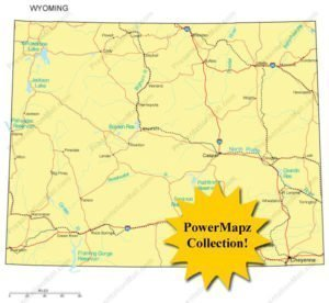 Wyoming Maps - Collection of Wyoming Maps